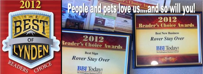 Award winning dog kennel in Whatcom County - website